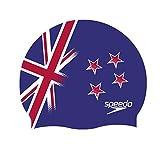 Speedo Flat SILC CAP AU Cuffia, Multicolore (New Zealand), Taglia