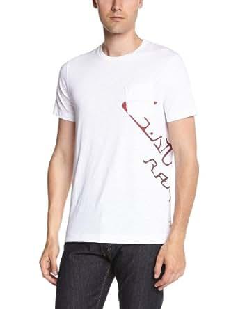 G-star - T-Shirt - Homme - Blanc (White) - L