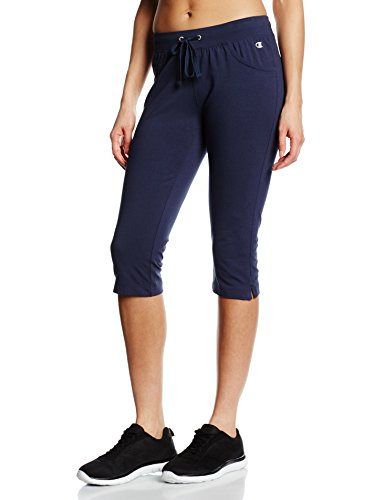 Champion Pantalon 3/4pour Femme Bleu nuit