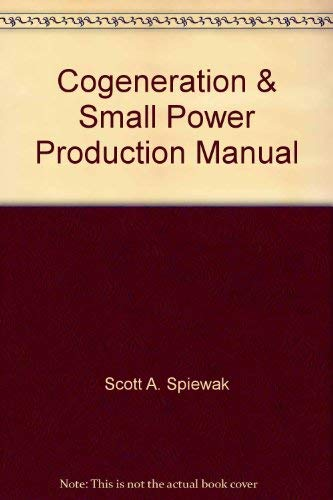 Cogeneration & Small Power Production Manual -