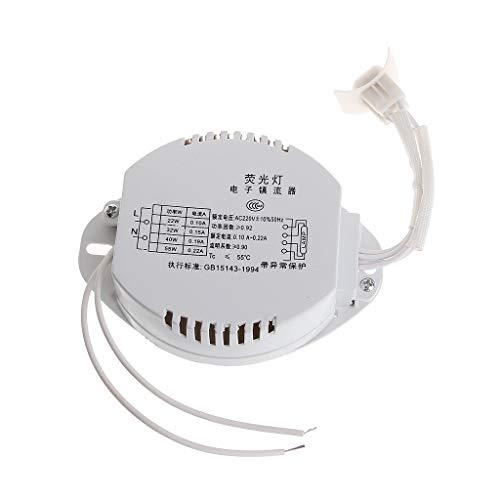 Bücherregal-regler (YoungerY (1pc Leuchtstoffröhrenringrohr elektronisches Vorschaltgerät 22W-40W Universaltyp)