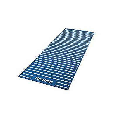 Reebok Yogamatte Doppelseitig Gestreift Blau, RAYG-11030BL