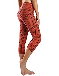 Sugar Pocket Legging de Sport Femme Stretch Yoga Jogging Fitness Running  Taille Haute avec Poche cdac79d208e