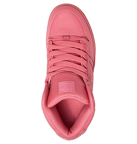 DC Rebound High Womens Peach Cream Marron - Desert