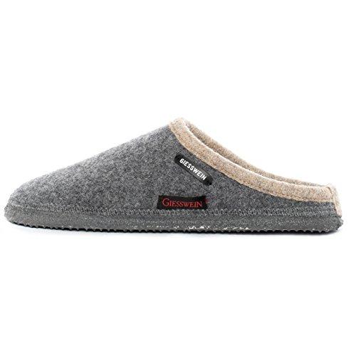 GIESSWEIN Unisex - Erwachsene Hausschuhe Pantoffeln, Grau (Schiefer 617), 45 EU