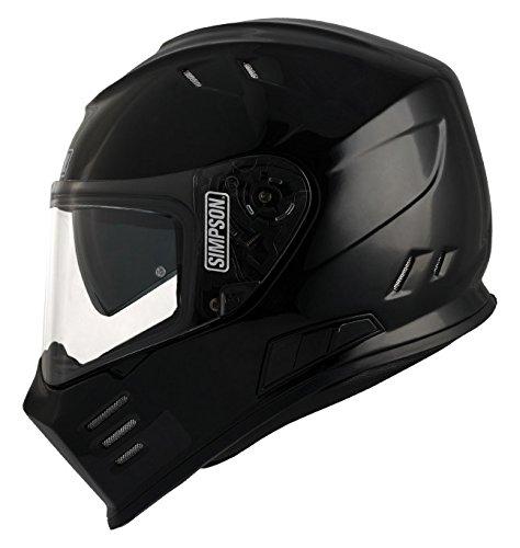 Simpsons Helmet Venom de 60l, noir Metal, Taille L