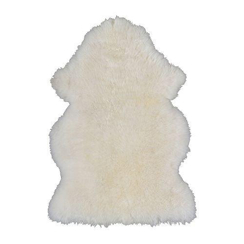 Ikea Lüdde - Piel de Oveja, Blanco