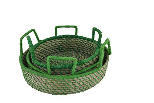 jupiter gifts and crafts sabai grass made baskets set