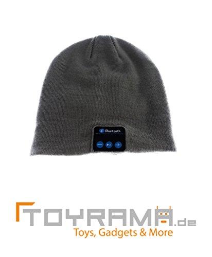 Mütze mit Bluetooth-Funktion - Grau