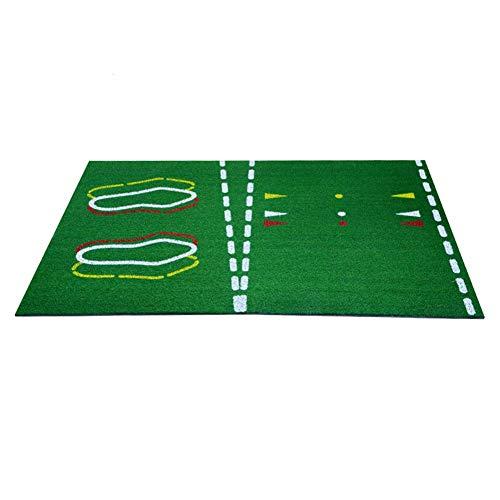DSLINA Golf-Lehrmatte/Professionelle Übungsmatte/Persönliche Matte/Indoor-Matte/Grün