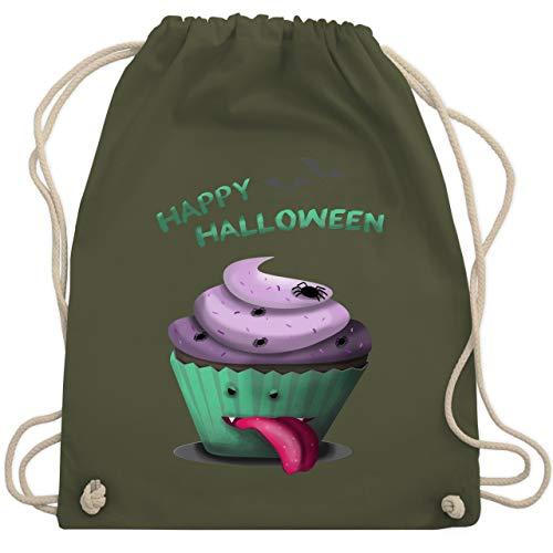 Halloween - Halloween treats - Unisize - Olivgrün - WM110 - Turnbeutel & Gym Bag