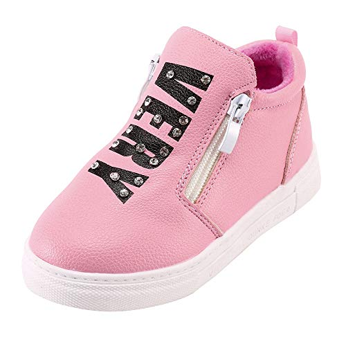 9b94b97c7ffa4 Chaussure bébé Chaussures de Sangle Hairball Chaussures Chaudes Bottes de  Couleur Unie Chaussures de Neige bébé
