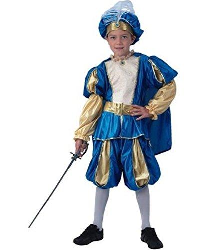 Prince Junge Charming Kostüm - Prince Charming Prinzenkostüm Kinderkostüm Faschingskostüm (134/140)