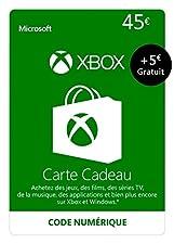 Crédit Xbox Live de 45 EUR + 5 EUR GRATUIT [Code Digital - Xbox Live]