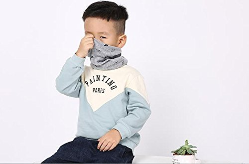 Gespout Invierno Moderno Bebé Bufanda de Algodón Cálido Cuello Manga de Múltiples Funciones de Algodón # 38 Tamaño: 40… 2