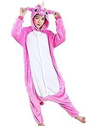 Dulce Unicornio Pijama Felpa Trajes En general Ropa de dormir Ropa de noche Ropa de salón Para niños y adultos
