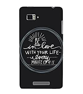 ifasho Designer Back Case Cover for Lenovo Vibe Z K910 (Link Education)