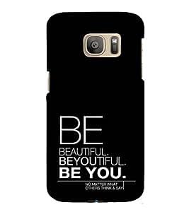 ifasho Designer Phone Back Case Cover Samsung Galaxy S7 :: Samsung Galaxy S7 Duos :: Samsung Galaxy S7 G930F G930 G930Fd ( Enjoy Every moment Colorful Pattern Design )