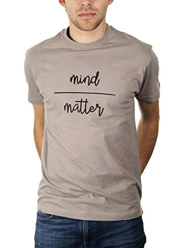 Mind - Matter - Herren T-Shirt von Kater Likoli Light Gray