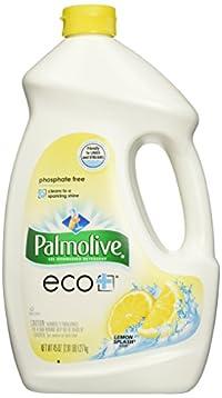 Palmolive Phosphate Dishwashing Detergent 45 Oz Lemon Splash