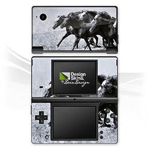 DeinDesign Skin kompatibel mit Nintendo DSi Folie Sticker Wildpferde Reiten Pferd