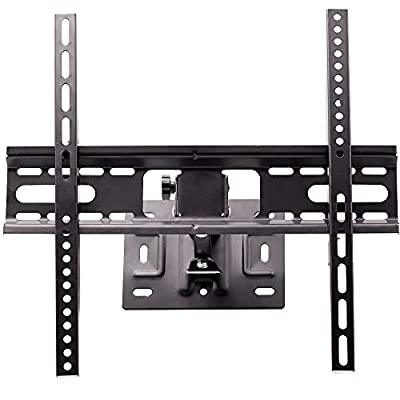 CEKATECH® Fixed Type Wall Mount TV Stand for LED TV, LCD, OLED, 26 to 55 Inches up to VESA 400x400 mm, TV Wall Mount compatible with Panasonic TX-49EX600