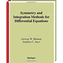 Symmetry and Integration Methods for Differential Equations (Applied Mathematical Sciences)