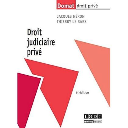 Droit judiciaire privé, 6ème Ed.