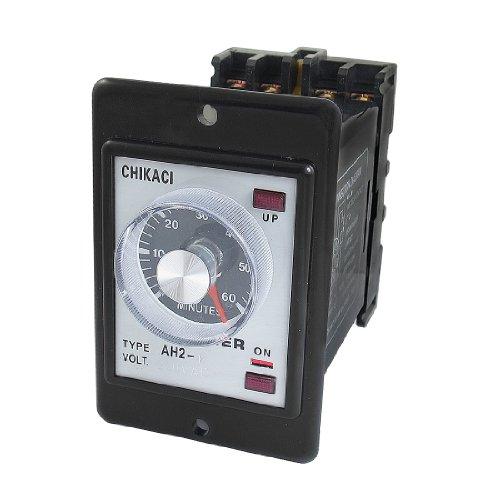 Preisvergleich Produktbild sourcingmap® AH2-Y AC 220V 8-polig DPDT 0-60 Minuten Schalten sie Zeitrelais Zeitrelais w Sockel
