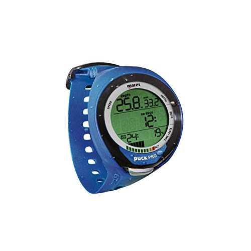 Mares Puck Pro Plus + Deep Blue avec interface Bluetooth