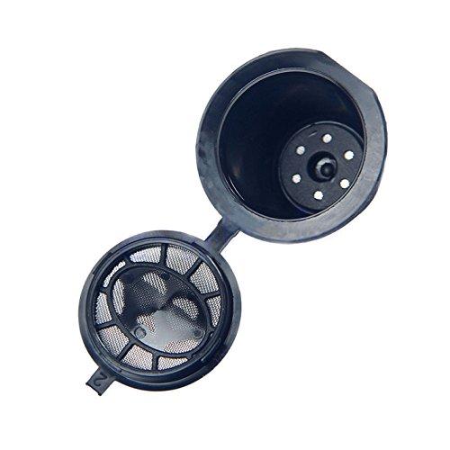 Misurino riutilizzabile da riempire per capsule di caffè, pezzo singolo, per macchine da caffè Nespresso 3 pz