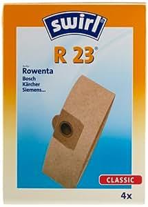 swirl r 23 staubsaugerbeutel f r rowenta staubsauger saugstarke industrie und. Black Bedroom Furniture Sets. Home Design Ideas
