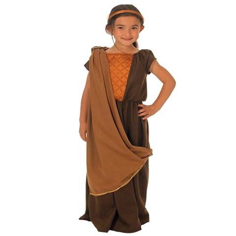 Costume Gaulois - Gauloise déguisement pour les filles. Taille 8-10