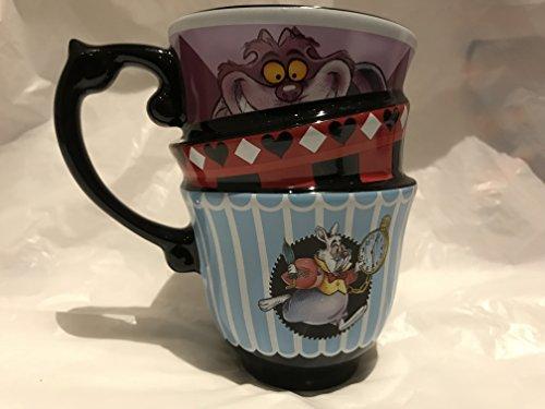 Alice au pays des merveilles tasse empilée par disney