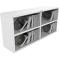 Zomo CS-Box 100/2 - Weiß - CD Regal