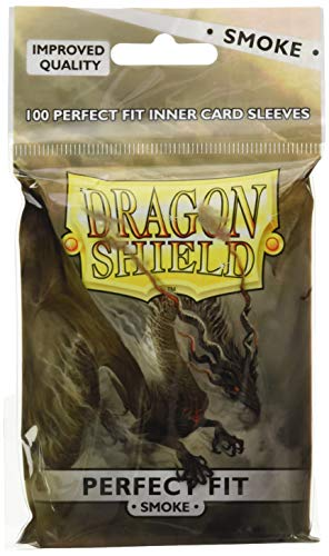 Arcane Tinmen ART13023 Dragon Shield, 100 Stück, Klar/Rauch -