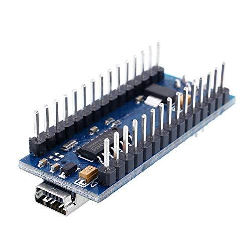 Lecimo Mini USB Nano V3.0 ATmega328P Scheda Micro-Controller Migliorata per Arduin