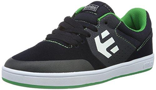 Etnies Unisex-Kinder Kids Marana Skateboardschuhe, Blau (Blue/Green/495), 36 EU (Schuhe Kids Etnies Mädchen)