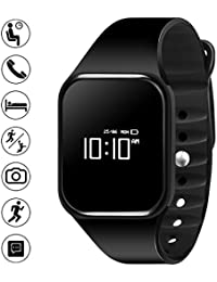 Bigowl Smart Fitness Watch Band, Smart Wristband Bracelet For Bluetooth Andriod And IOS