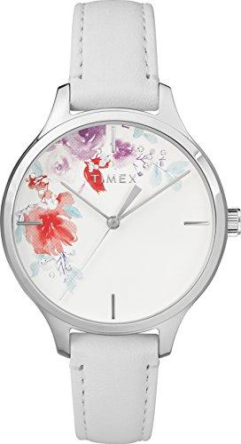 Timex Mixte Adulte Analogique Automatique Montre avec Bracelet en Cuir TW2R66800
