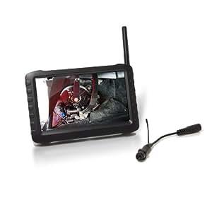 Kit caméra snake sans fil avec récepteur LCD couleur 5'
