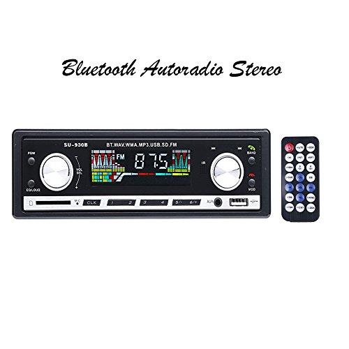 * Deal * Masione Bluetooth Auto Radio Stereo FM 1Din Auto Audio Receiver In Dash USB / SD / AUX MP3 Player mit LCD Bildschirm + Fernbedienung