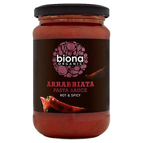 Biona Organische Hot & Spicy Pasta-Sauce 350G - Packung mit 6