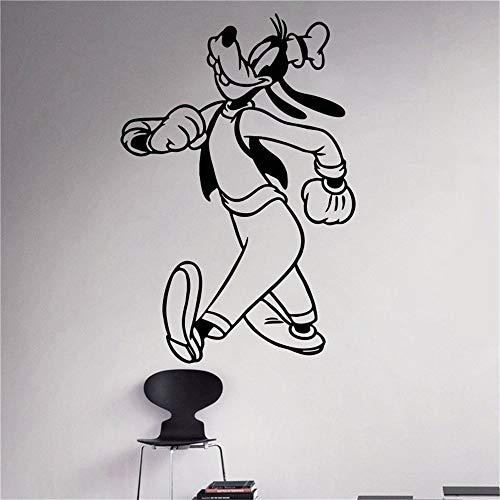 zimmer Goofy Spaziergänge Kostüm Kids Name Baby für Kinderzimmer ()