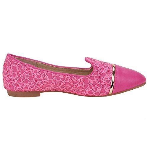 Chaussures pour fille z-611, ballerines femme Rose - Rose