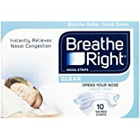 Breath Right Nasal Strips Clear Regular 10 Pack preisvergleich bei billige-tabletten.eu