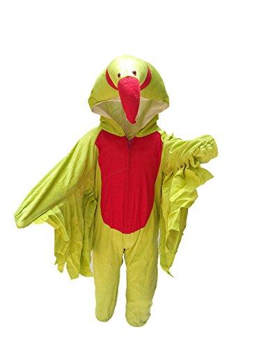 KFD Kids Parrot Bird Costume & Fancy Dress