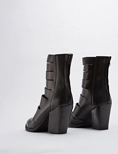 FIND Bottines Femme Noir (Black)