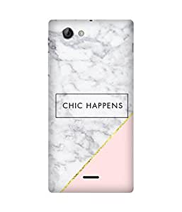Chic Happens Sony Xperia J Case