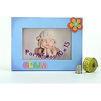 Porta fotos de madera personalizado